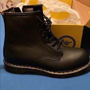Dr. Martens steel toe work boots